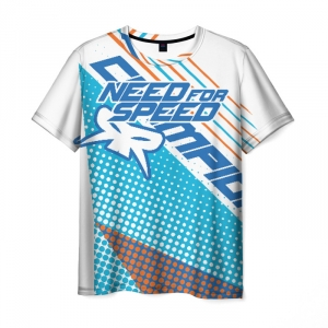 Merch Men'S T-Shirt Need For Speed White Image