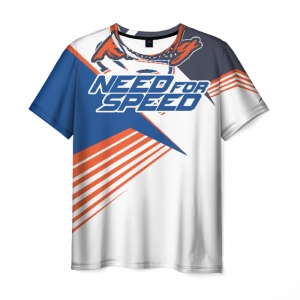 Merch Men'S T-Shirt Need For Speed White Label