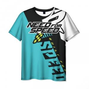 Merch Men'S T-Shirt Need For Speed Title Emblem Design