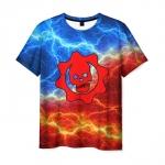 Collectibles Men T-Shirt Gears Of War Flames Flash Print