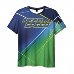 Merch Men T-Shirt Need For Speed Clothes Print