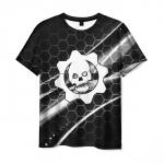 Merchandise Gears Of War T-Shirt Game Logo Black