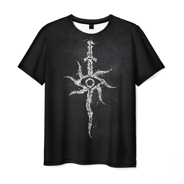 Collectibles Men T-Shirt Dark Souls Sun Sword Print