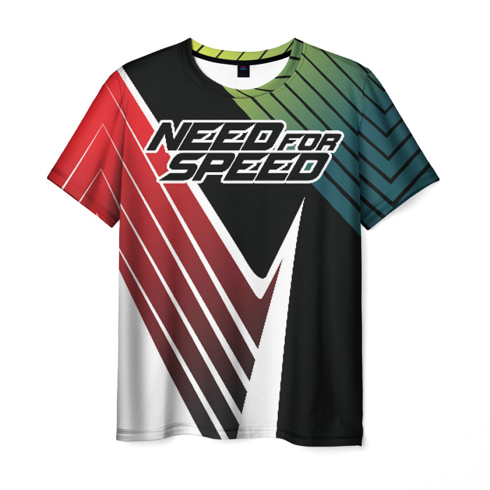 Collectibles Men T-Shirt Need For Speed Text Image