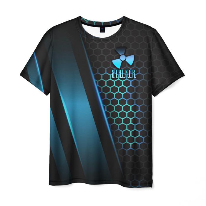 Merchandise Men T-Shirt Clothes Stalker Game Print