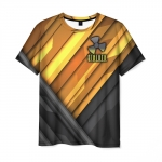 Merch Men T-Shirt Apparel Stalker Print Emblem
