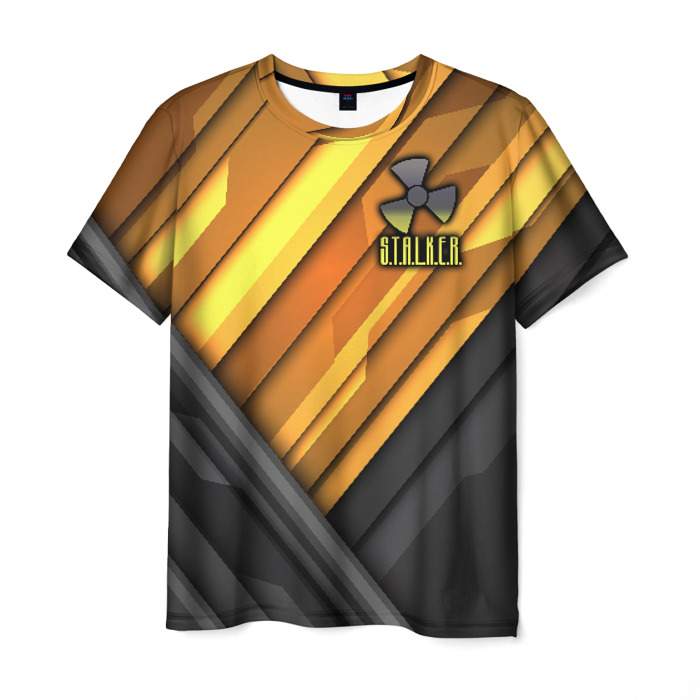 Merchandise Men T-Shirt Apparel Stalker Print Emblem