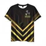Collectibles Men T-Shirt Title Stalker Print Black