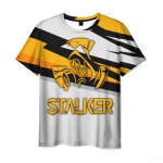 Collectibles Men T-Shirt Game White Stalker Title