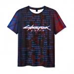 Merchandise Men T-Shirt Print Game Cyberpunk 2077