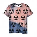 Merchandise Men T-Shirt Stalker Pattern Emblem