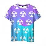 Collectibles Men T-Shirt Pattern Emblem Game Stalker