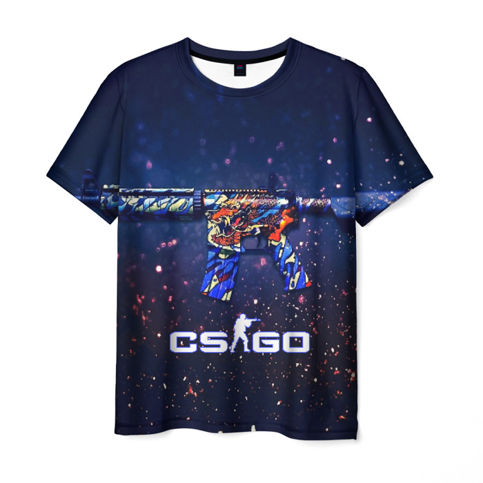 Merch Men T-Shirt Counter Strike Firearm