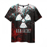 Collectibles Men T-Shirt Glitch Stalker Black Sign