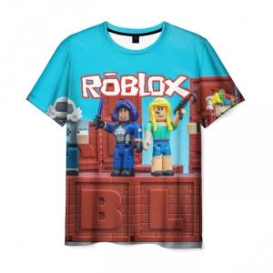 Merchandise Men'S T-Shirt Roblox Hero Print Merchandise