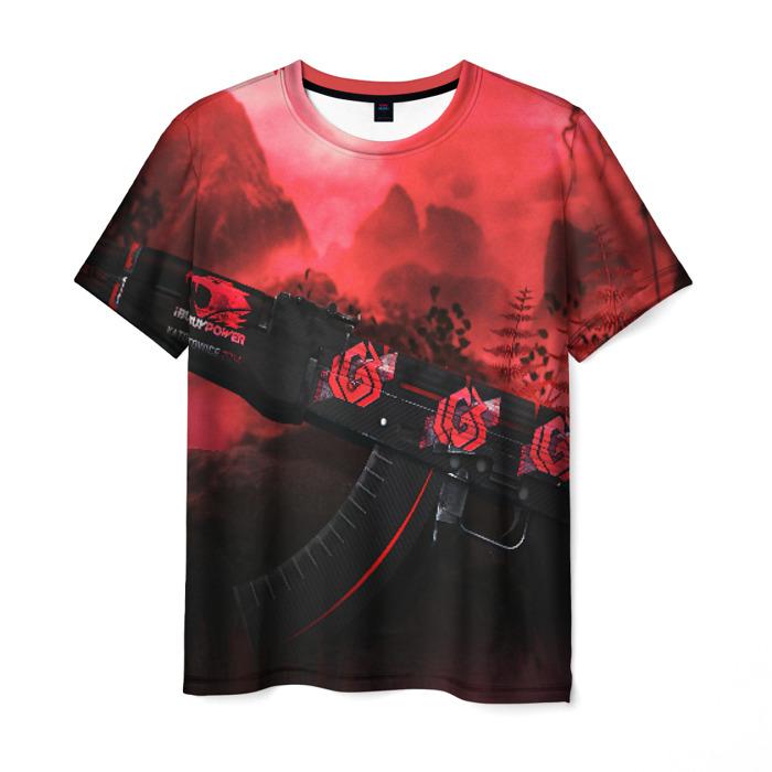 Merchandise Men'S T-Shirt Footage Print Counter-Strike Merchandise