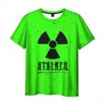 Merchandise Men'S T-Shirt Acid Print Stalker Merchamdise