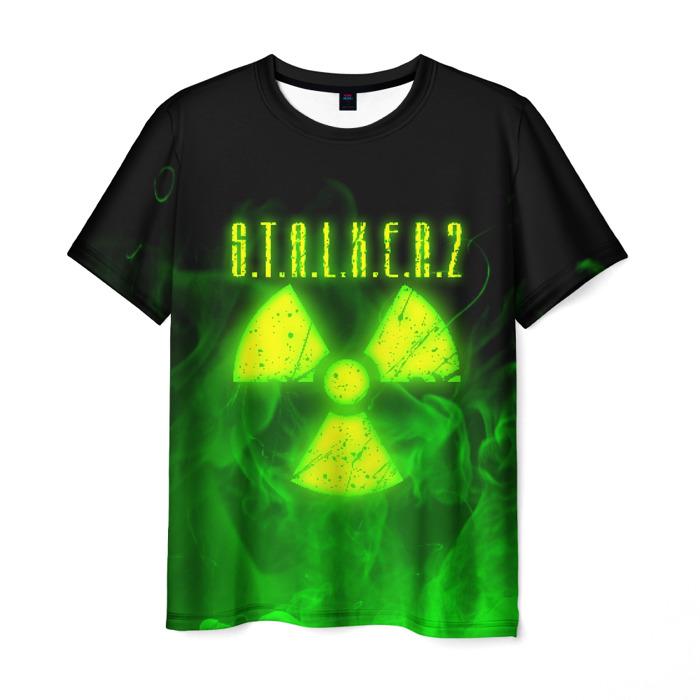 Collectibles Men'S T-Shirt Label Stalker Title Sign Print