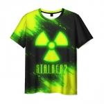 Collectibles Men'S T-Shirt Toxic Radiation Print Stalker