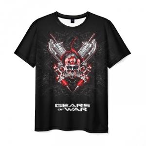 Merchandise Men'S T-Shirt Black Merchandise Gears Of War