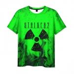 Collectibles Men'S T-Shirt Toxic Green Game Stalker Design Merch