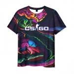 Merch Men'S T-Shirt Psychedelic Hyper Beast Design Counter-Strike