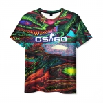 Merchandise Men'S T-Shirt Psychedelic Design Cs:go Print