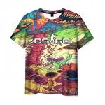 Collectibles Men'S T-Shirt Cs:go Psychedelic Print Apparel