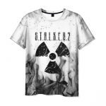 Merchandise Men'S T-Shirt Radiation Sign Merch Game Stalker