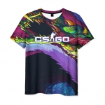 Collectibles Men'S T-Shirt Psychedelic Merch Print Counter-Strike