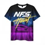 Merch Men'S T-Shirt Need For Speed Heat Apparel