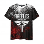 Merchandise Men'S T-Shirt Apparel Text Emblem The Last Of Us