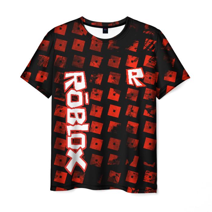 Merchandise Men'S T-Shirt Pattern Design Merch Roblox