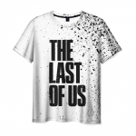 Collectibles Men'S T-Shirt White Title Merch The Last Of Us