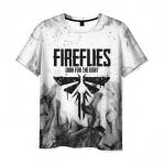 Merch Men'S T-Shirt Fireflies Game The Last Of Us