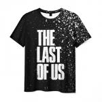 Merch Men'S T-Shirt Text Game The Last Of Us Black