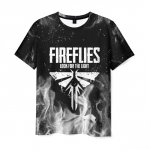 Collectibles Men'S T-Shirt Print Game The Last Of Us Text