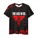 Collectibles Men'S T-Shirt Text Merch The Last Of Us Print