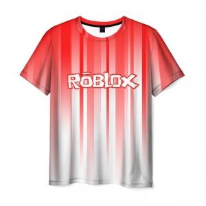Merchandise Men'S T-Shirt Roblox Gradient Print Merch