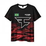 Collectibles Men'S T-Shirt Faze Clan Print Counter-Strike