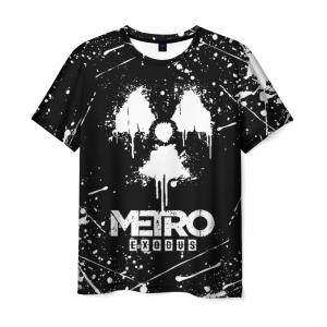 Merch Men'S T-Shirt Picture Print Metro Exodus