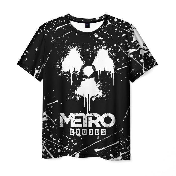 Collectibles Men'S T-Shirt Picture Print Metro Exodus