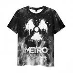 Collectibles Men'S T-Shirt Black Merch Metro Exodus Image