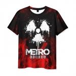Merch Men'S T-Shirt White Sign Metro Exodus