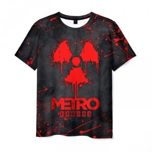 Merch Men'S T-Shirt Rad Sign Metro Exodus