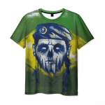 Collectibles Men'S T-Shirt Caveira Rainbow Six Siege