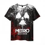 Collectibles Men'S T-Shirt Image Merch Print Metro Exodus