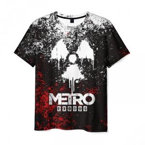 Merch Men'S T-Shirt Image Merch Print Metro Exodus