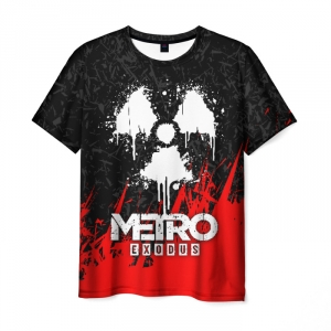 Merch Men'S T-Shirt Game Design Metro Exodus Merch