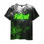 Collectibles Men'S T-Shirt Spots Print Game Fallout Design